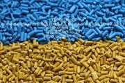 Вторинна гранула HDPE,  PP,  PS,  трубний ПЕ РЕ80, 100  ПНД видувний
