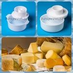 Сырная форма с поршнем Варить сыр дома Кулинария приготовление сыра