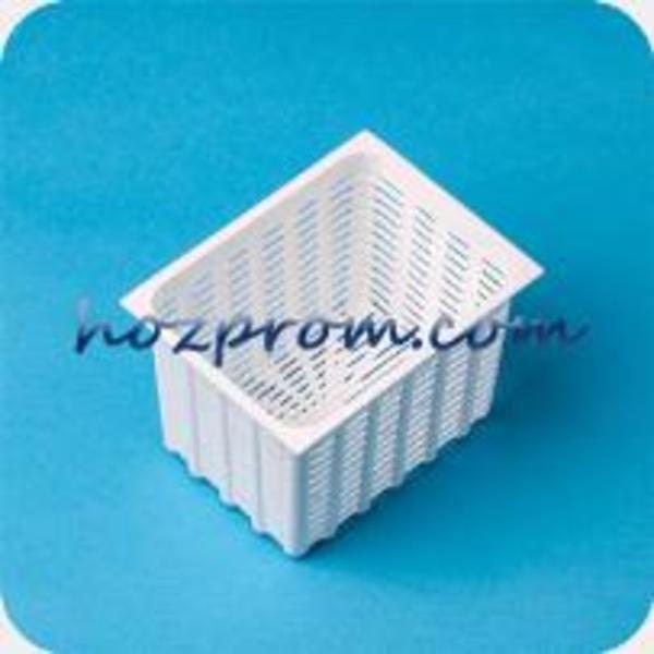 Прямоугольная форма для мягкого сыра 0, 35 кг Производство моцареллы