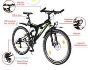 Продам велосипед немецкий,  новый 24 скорости
