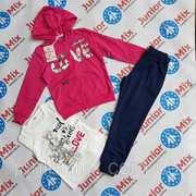 Детские спортивные костюмы для девочек тройка F&D